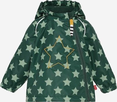 Racoon Outdoor Tussenjas 'Henry Star' in de kleur Groen, Productweergave