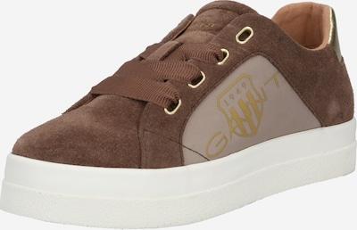 GANT Sneaker 'Avona' in beige / braun / goldgelb: Frontalansicht