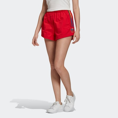 ADIDAS ORIGINALS Shorts in knallrot, Modelansicht