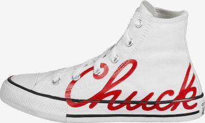 CONVERSE Sneaker in rot / weiß, Produktansicht