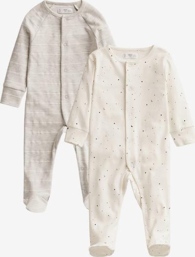 MANGO KIDS Nachtkledij 'Lilip' in de kleur Grijs gemêleerd / Zwart / Wit, Productweergave