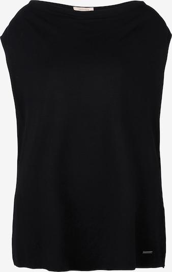 TRIANGLE Top in schwarz, Produktansicht