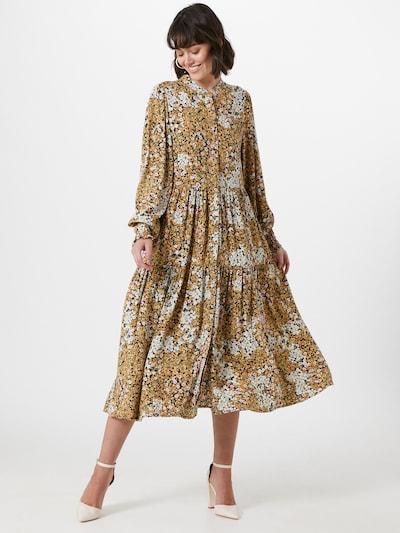Y.A.S Kleid in dunkelgelb / mischfarben, Modelansicht