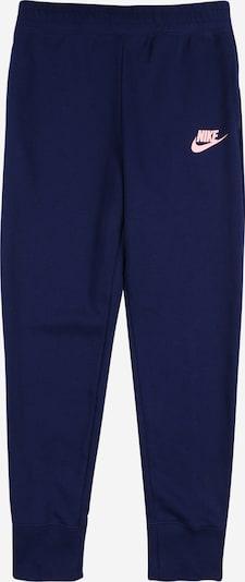 Nike Sportswear Broek in de kleur Blauw / Rosa, Productweergave