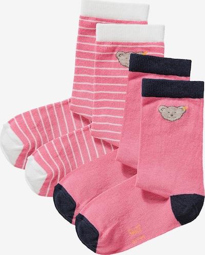 STEIFF Socks in Pink / Black / White, Item view