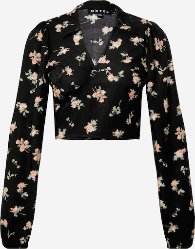 Motel Blouse 'Briza' in mixed colours / black, Item view
