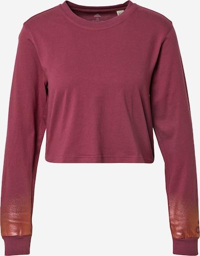ADIDAS PERFORMANCE Toiminnallinen paita värissä viininpunainen, Tuotenäkymä