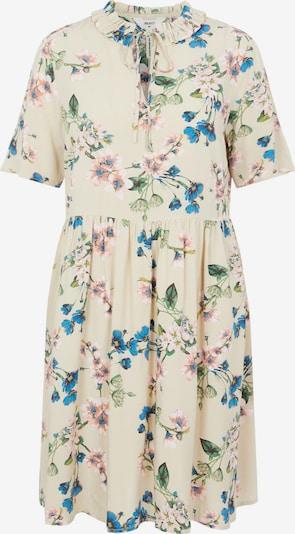 OBJECT Robe-chemise 'Paree' en beige / mastic / bleu ciel / vert clair / rose ancienne, Vue avec produit