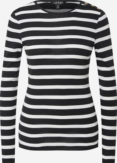 Tricou 'ELENA' Lauren Ralph Lauren pe negru / alb murdar, Vizualizare produs