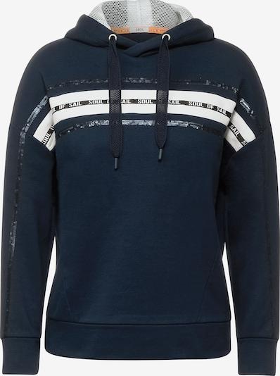 CECIL Sweatshirt in marine / weiß, Produktansicht