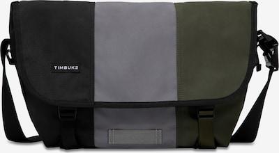 TIMBUK2 Umhängetasche 'Heritage Classic' in grau / dunkelgrün / schwarz / weiß, Produktansicht