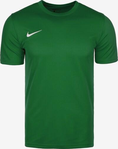 NIKE T-Shirt in grün / weiß, Produktansicht