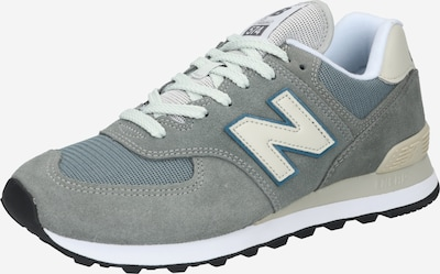 new balance Sneakers '574' in Grey / Light grey / Petrol / White, Item view