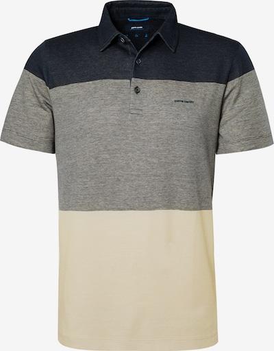 PIERRE CARDIN T-Shirt en beige / marine / gris, Vue avec produit