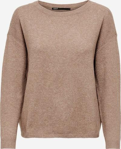 ONLY Pullover in hellbraun, Produktansicht