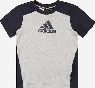 Sportiniai marškinėliai iš ADIDAS PERFORMANCE, spalva – pilka / antracito spalva, Prekių apžvalga