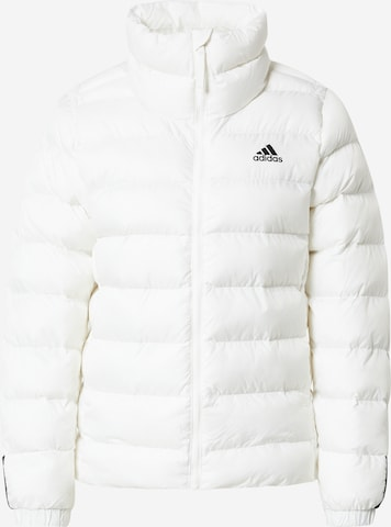 ADIDAS PERFORMANCE Outdoor Jacket 'Itavic' in White