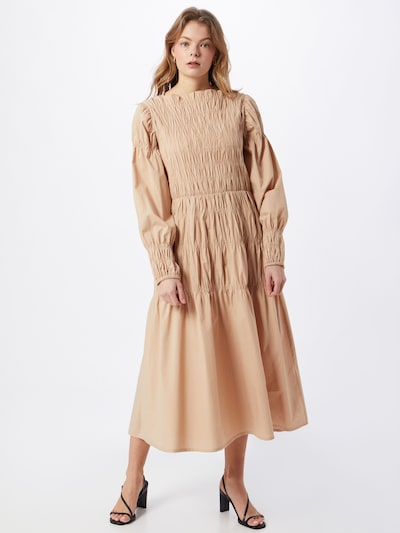 Rochie 'Begie' Love Copenhagen pe bej, Vizualizare model