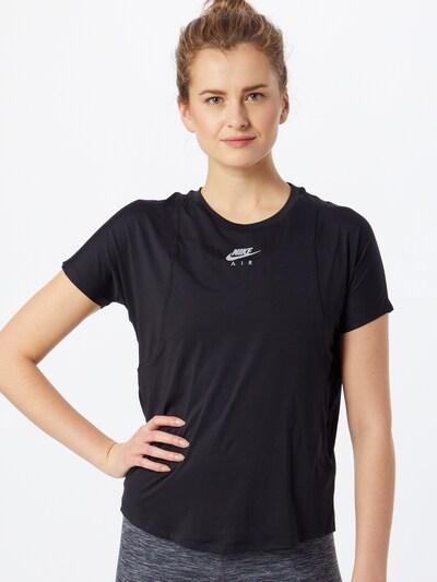 Sportiniai marškinėliai 'Air' iš NIKE , spalva - juoda / Sidabras: Vaizdas iš priekio