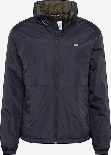 Tommy Jeans Tussenjas 'YOKE' in de kleur Zwart, Productweergave