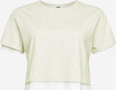 Urban Classics Majica u siva melange / bijela, Pregled proizvoda