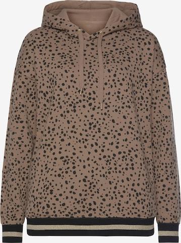 BUFFALO Sweatshirt in Braun