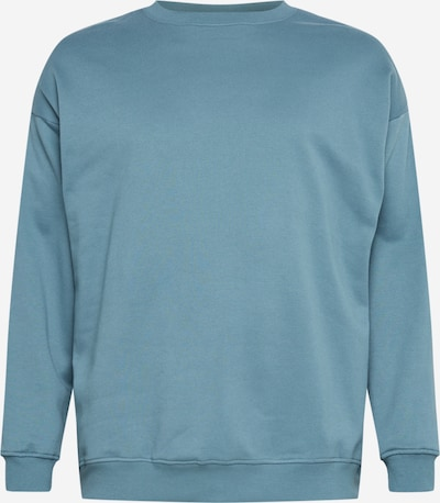 Urban Classics Big & Tall Sweatshirt in rauchblau, Produktansicht