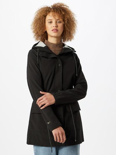 BRUNOTTI Zunanji plašč 'Mirja' | črna barva, Prikaz modela