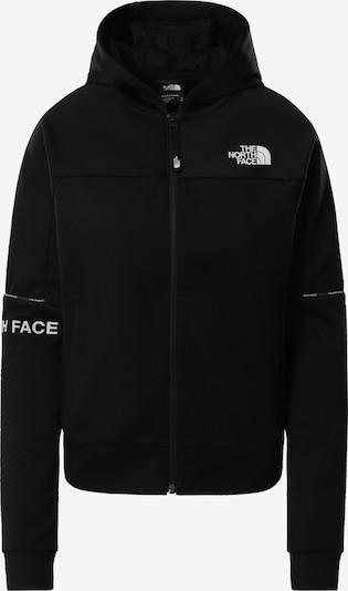 THE NORTH FACE Sweatjacke in schwarz / weiß, Produktansicht