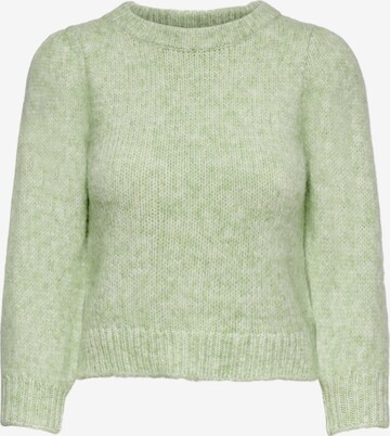 zaļš ONLY Džemperis 'BENIN'