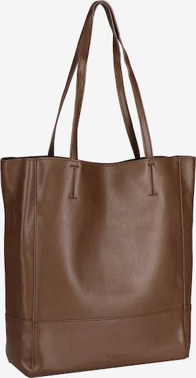 Seidenfelt Manufaktur Shopper Tasche 30 cm in braun, Produktansicht