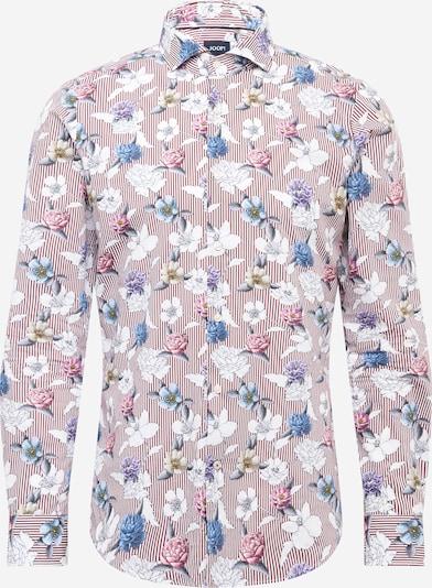 JOOP! Hemd in hellblau / dunkellila / merlot / weiß, Produktansicht