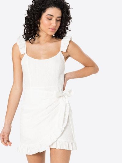NA-KD Kleid in weiß, Modelansicht