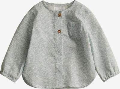 MANGO KIDS Shirt 'HUGO' in grau / hellgrau, Produktansicht