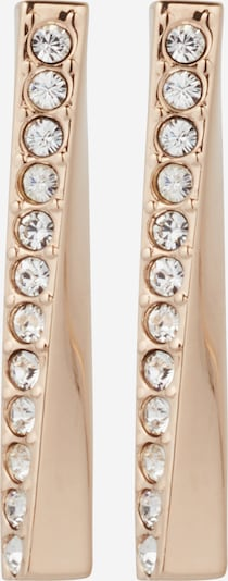 BOSS Casual Earrings 'SIGNATURE' in Rose gold / White, Item view