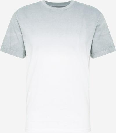 American Eagle T-Shirt in hellgrau / weiß, Produktansicht