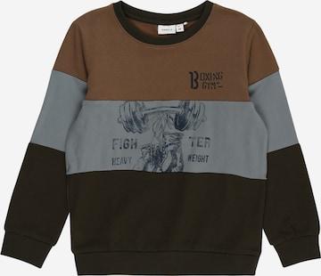 brūns NAME IT Sportisks džemperis 'NOVI'