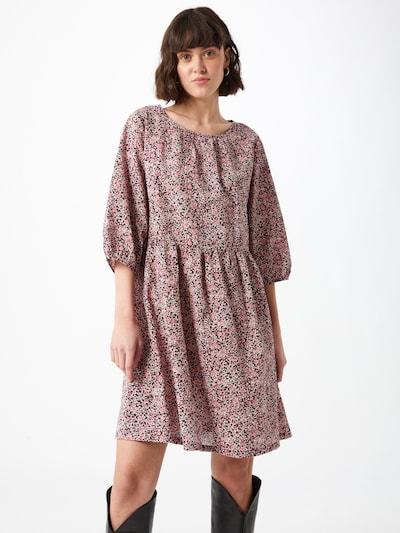 ONLY Kleid 'Lua' in pink / schwarz, Modelansicht