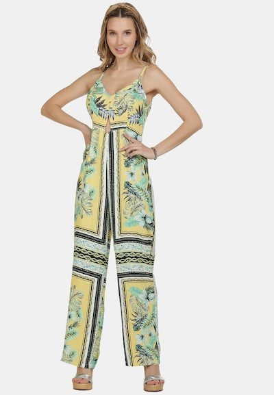 IZIA Jumpsuit in Yellow / Mixed colors, View model