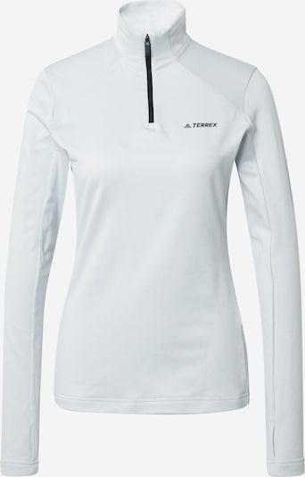 adidas Terrex Sportshirt in hellblau / schwarz, Produktansicht