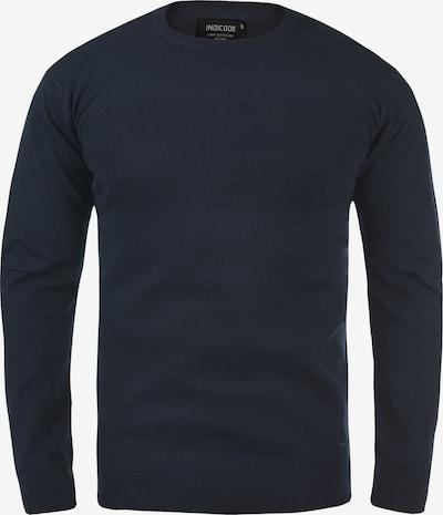 INDICODE JEANS Trui 'Ernesto' in de kleur Blauw / Navy / Donkerblauw, Productweergave