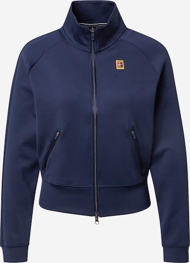 NIKE Αθλητική ζακέτα φούτερ σε ναυτικό μπλε / χρυσοκίτρινο / ανοικτό πράσινο / κόκκινο, Άποψη προϊόντος