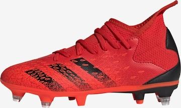 Chaussure de sport 'Predator Freak.3 SG' ADIDAS PERFORMANCE en rouge