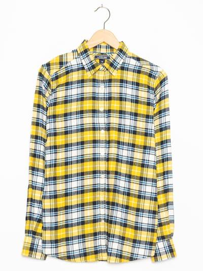 LandsEnd Flanellhemd in L in zitrone, Produktansicht