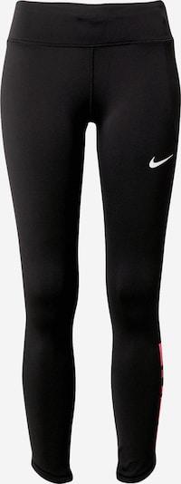 NIKE Sporta bikses rozā / melns / balts, Preces skats