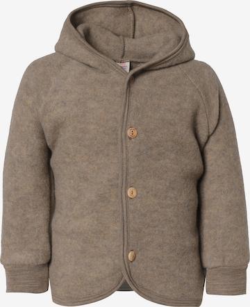 ENGEL Fleece Jacket in Brown