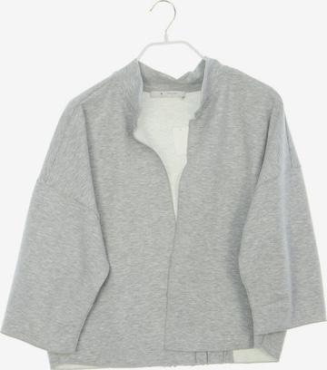 monari Sweatshirt & Zip-Up Hoodie in L in Grey