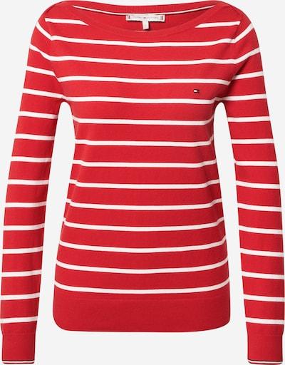 TOMMY HILFIGER Neulepaita värissä punainen / valkoinen: Näkymä edestä