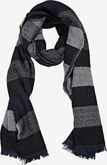 ESPRIT Schal in grau / schwarz, Produktansicht