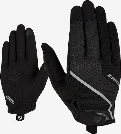 ZIENER Fahrradhandschuhe 'CLYO TOUCH' in schwarz, Produktansicht